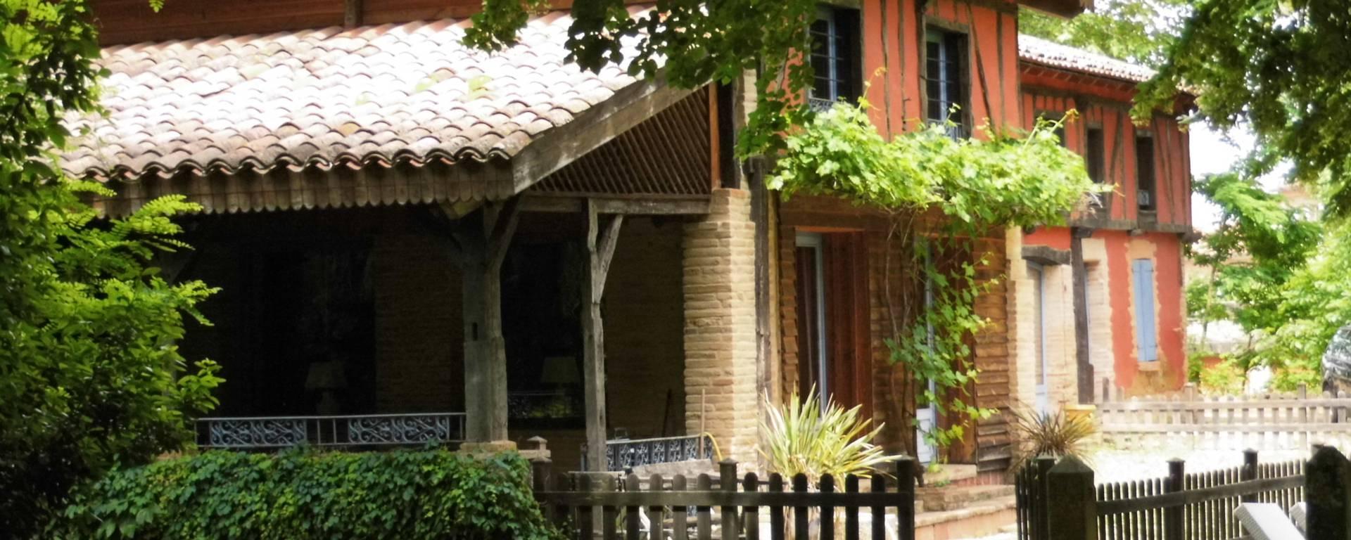 La maison Philippe, Lombez, Savès
