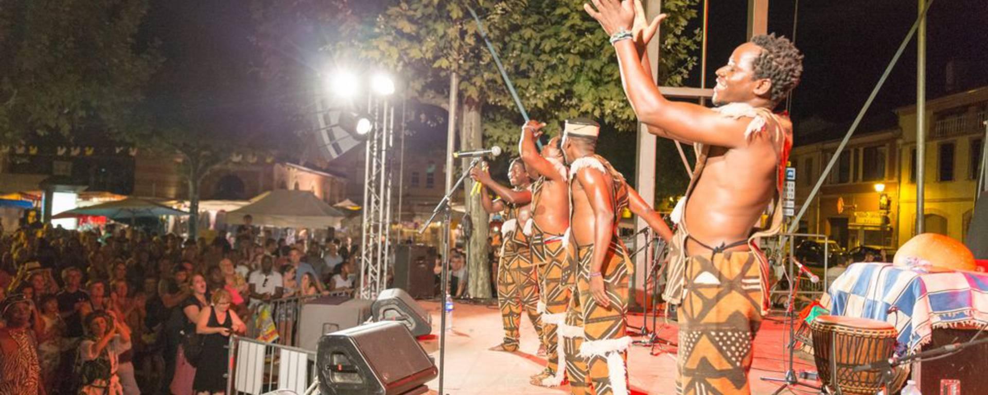 Festival Sam'Africa, Samatan, Lombez, Savès, Gers, Gascogne, France