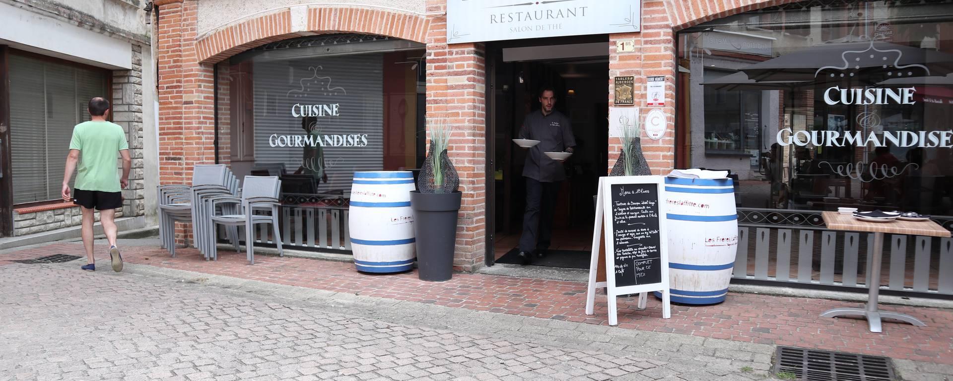 restaurant la Table d'Olivier, Samatan, Savès, Gers, Gascogne, France