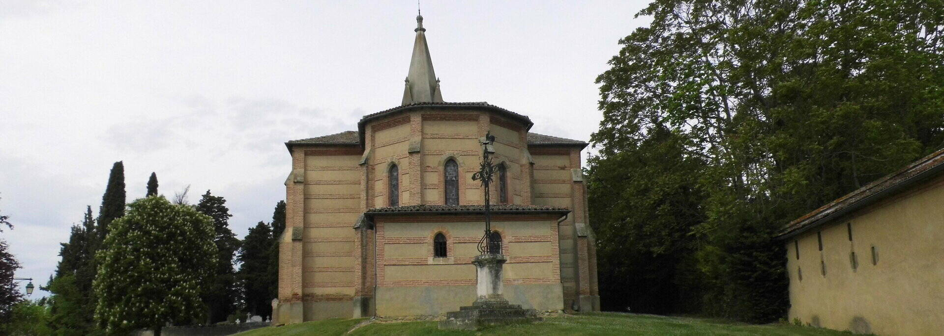 Eglise Saint-Martin, Gaujac, Savès
