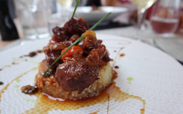 Restaurant la Table d'Olivier, Samatan, Lombez, Savès, Gers, Gascogne, France.