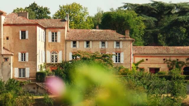 Château de Labusquière, Montadet, Lombez, Samatan, Savès, Gers, Gascogne, France