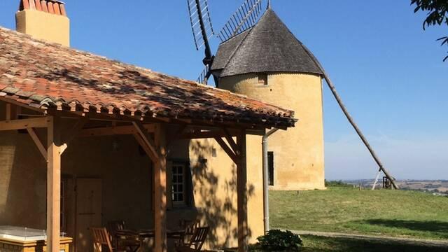 """Gîte """"La Maison du meunier"""" ***, Montpézat, Savès"""