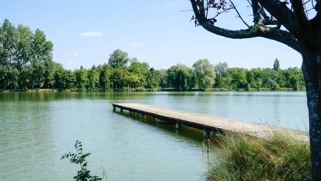 Lac de Samatan, Lombez, Samatan, Gers, Gascogne, France