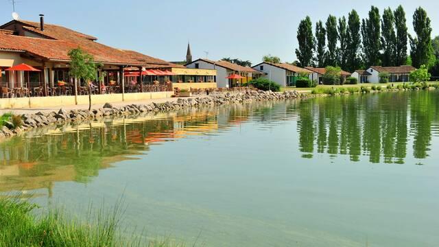 Village de vacances, Club découverte *** Vacanciel Les Rivages, Samatan, Savès, Gers, Gascogne, France.