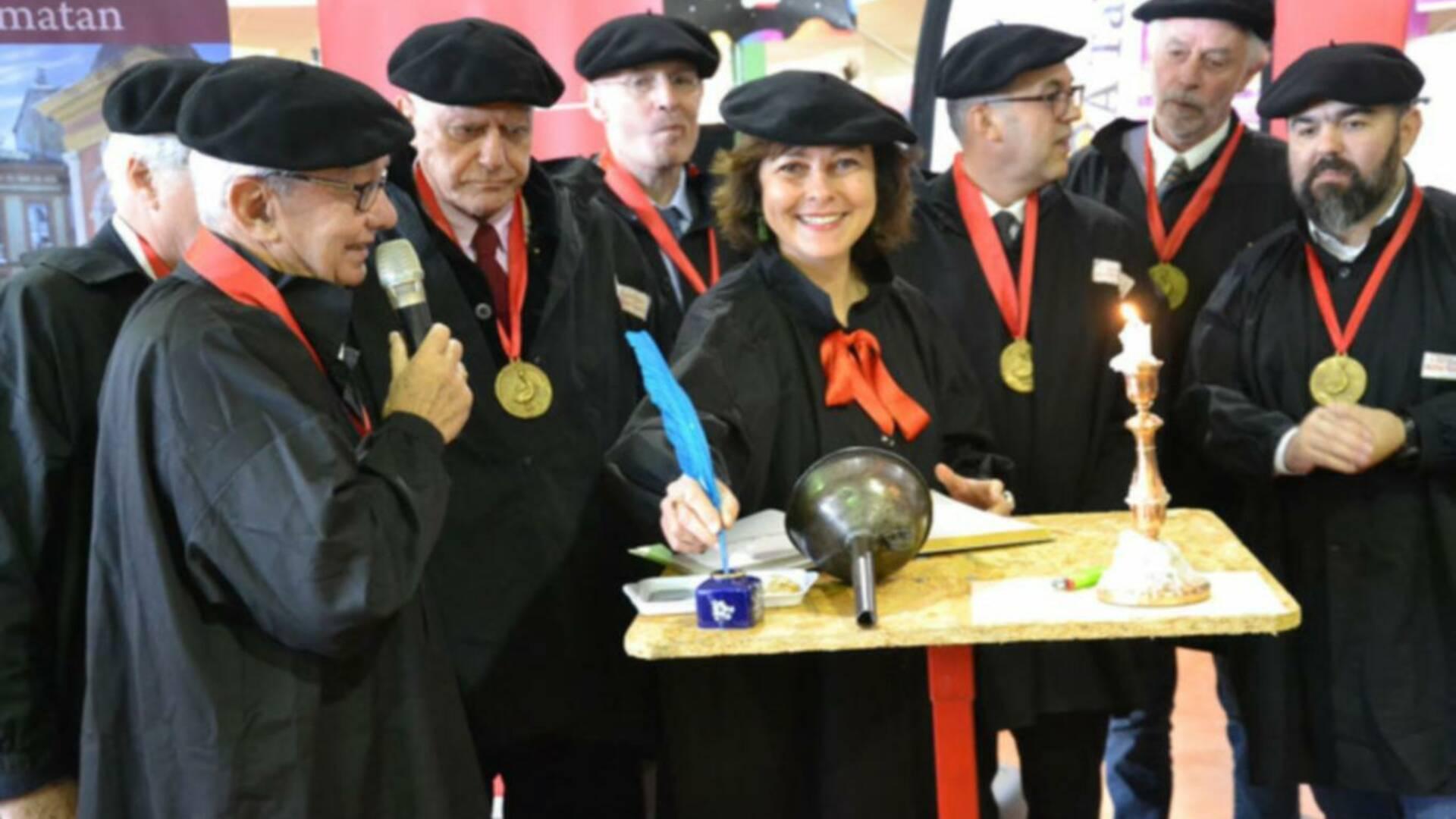 Carole Delga, Gasconh'a Table, Samatan, Lombez, Savès, Gers, Gascogne, France