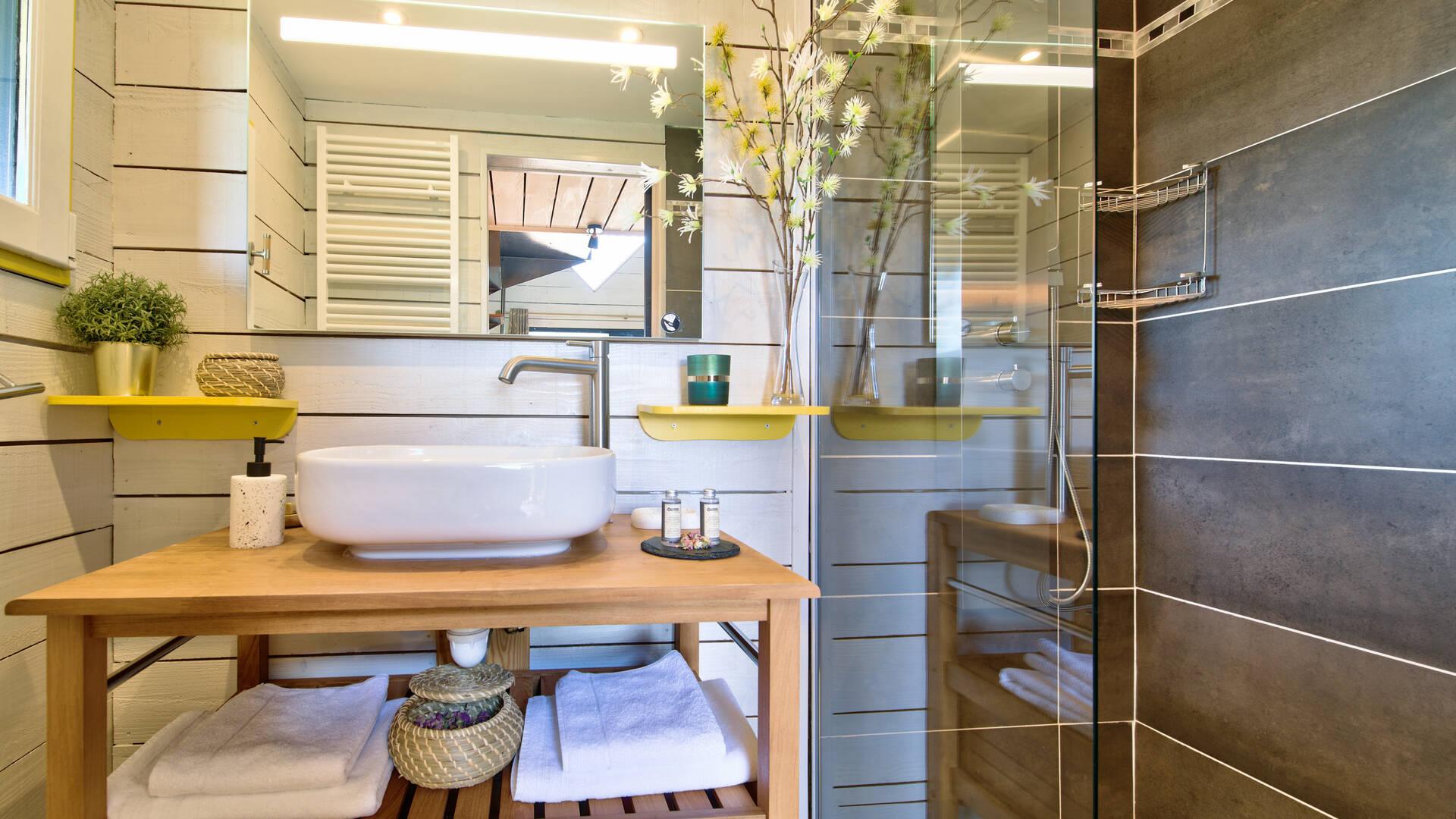 Bathroom, B&B Saga, Savignac-Mona, Lombez, Samatan, Savès, Gers, Gascogne, France