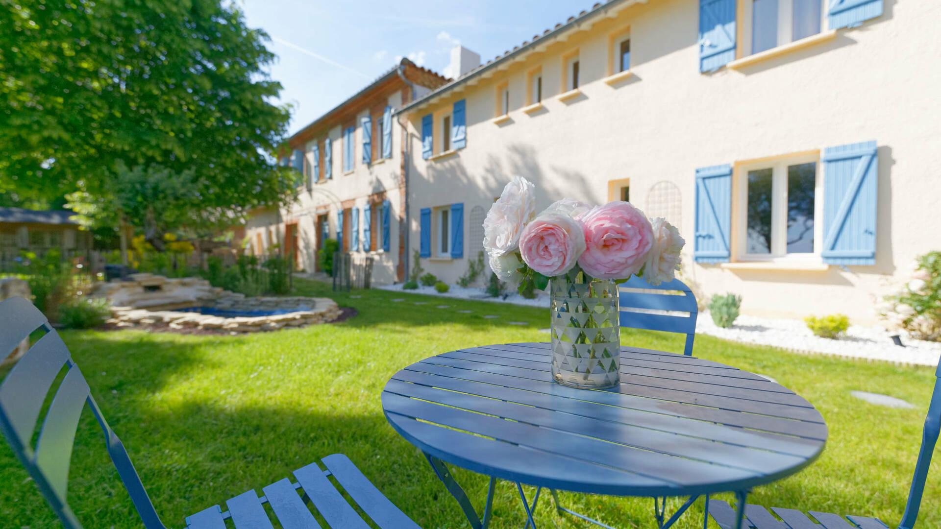 Gite La Maison Bleue, Savignac-Mona, Lombez, Samatan, Savès, Gascogne, Gers, France