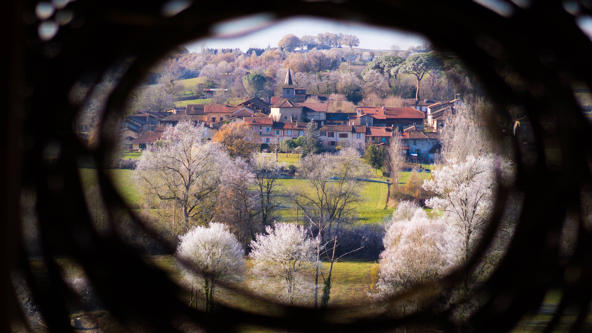 Le Yané, Le Land Art à Saint Elix d'Astarac et àVillefranche d'Astarac