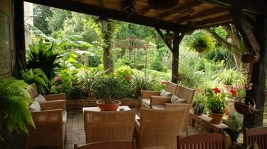 Le Jardin, Le Parc de Pétrarque, Chambres d'Hôtes dans le Savès.