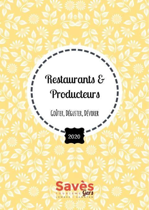 Restaurants et producteurs du Savès, Lombez Samatan, Office de Tourisme du Savès, Gers, Gascogne, France