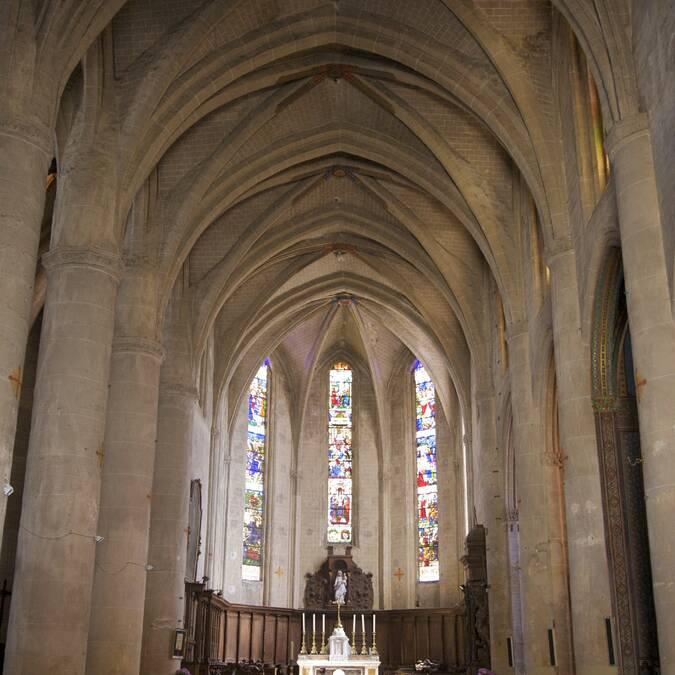 Nef de la Cathédrale Sainte Marie, Lombez, Savès